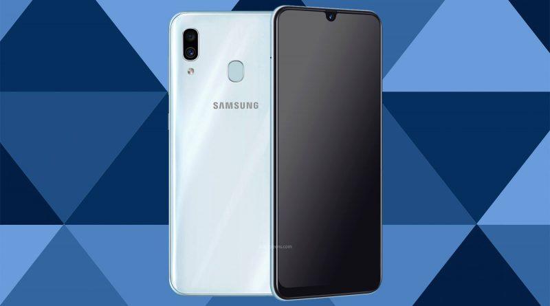 Samsung Galaxy A30 Screen