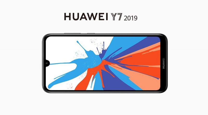 Huawei Y7 2019 Screen