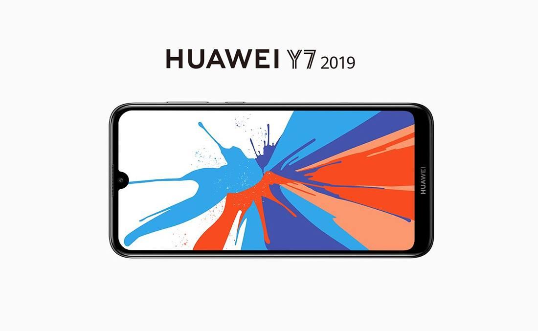 Huawei Y7 2019 Screen