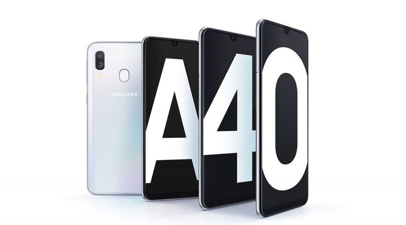 Samsung Galaxy A40 Screen