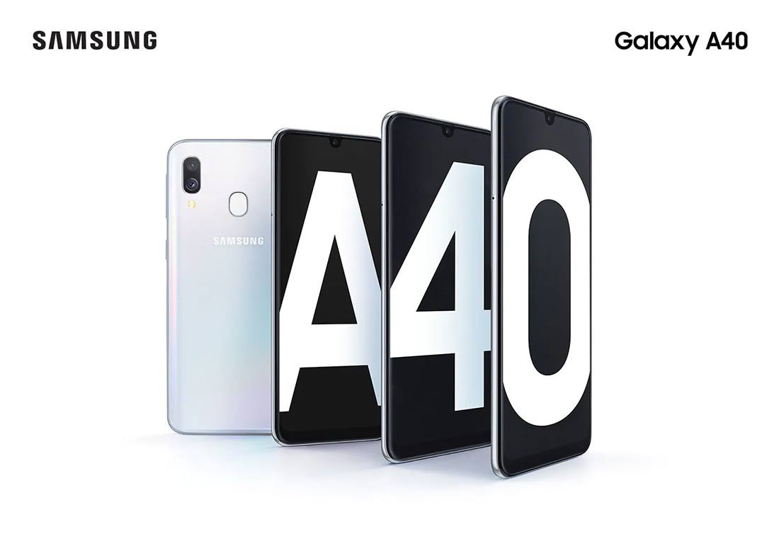 Samsung Galaxy A40 Screen