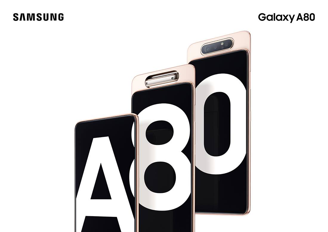 Samsung Galaxy A80 Screen