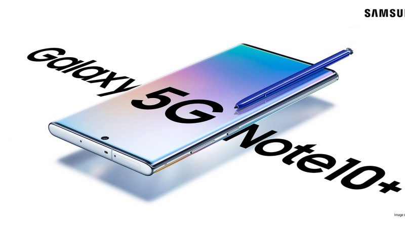 Samsung Galaxy Note10+ 5G Screen