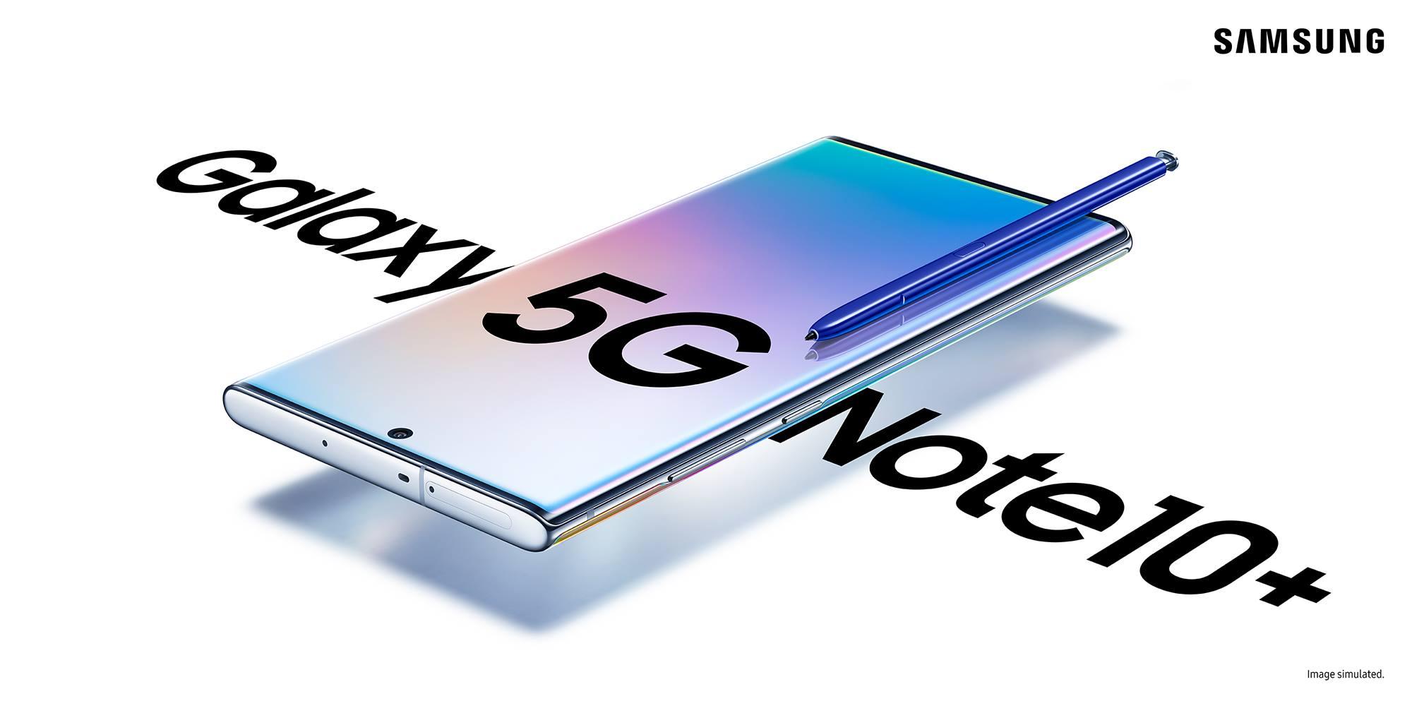 Samsung Galaxy Note10+ 5G Screen