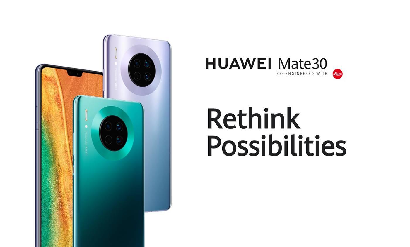 Huawei Mate 30 Screen