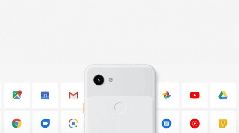 Google Pixel 3a Screen