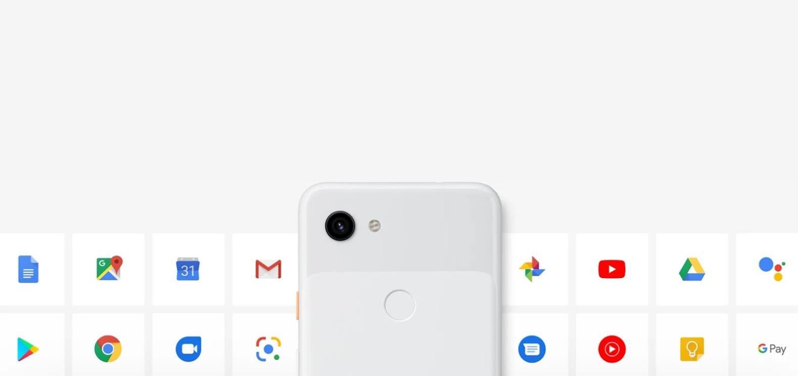 Google Pixel 3a Screen