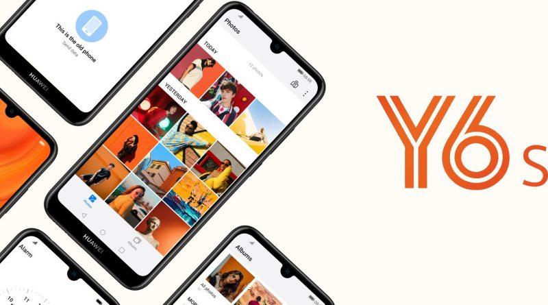 Huawei Y6s Screen