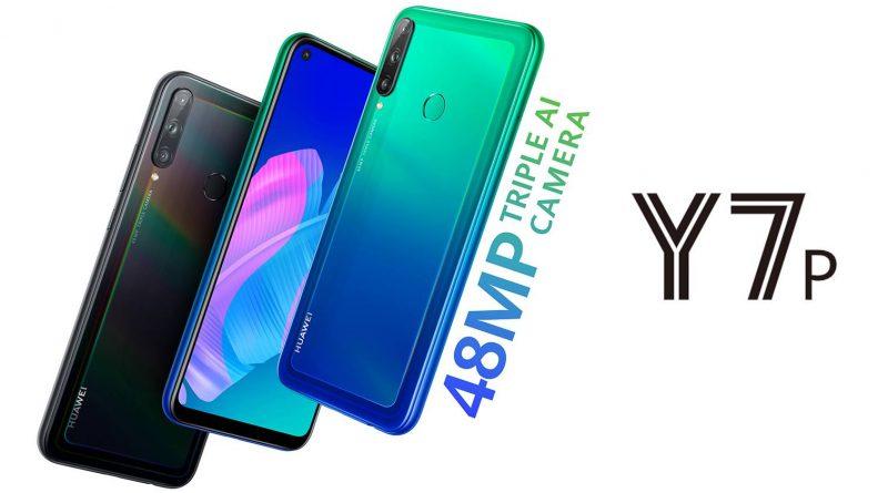 Huawei Y7p Screen