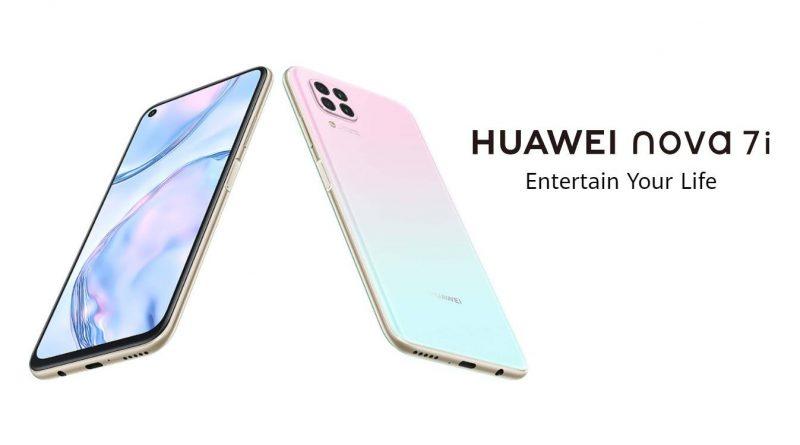 Huawei nova 7i Screen