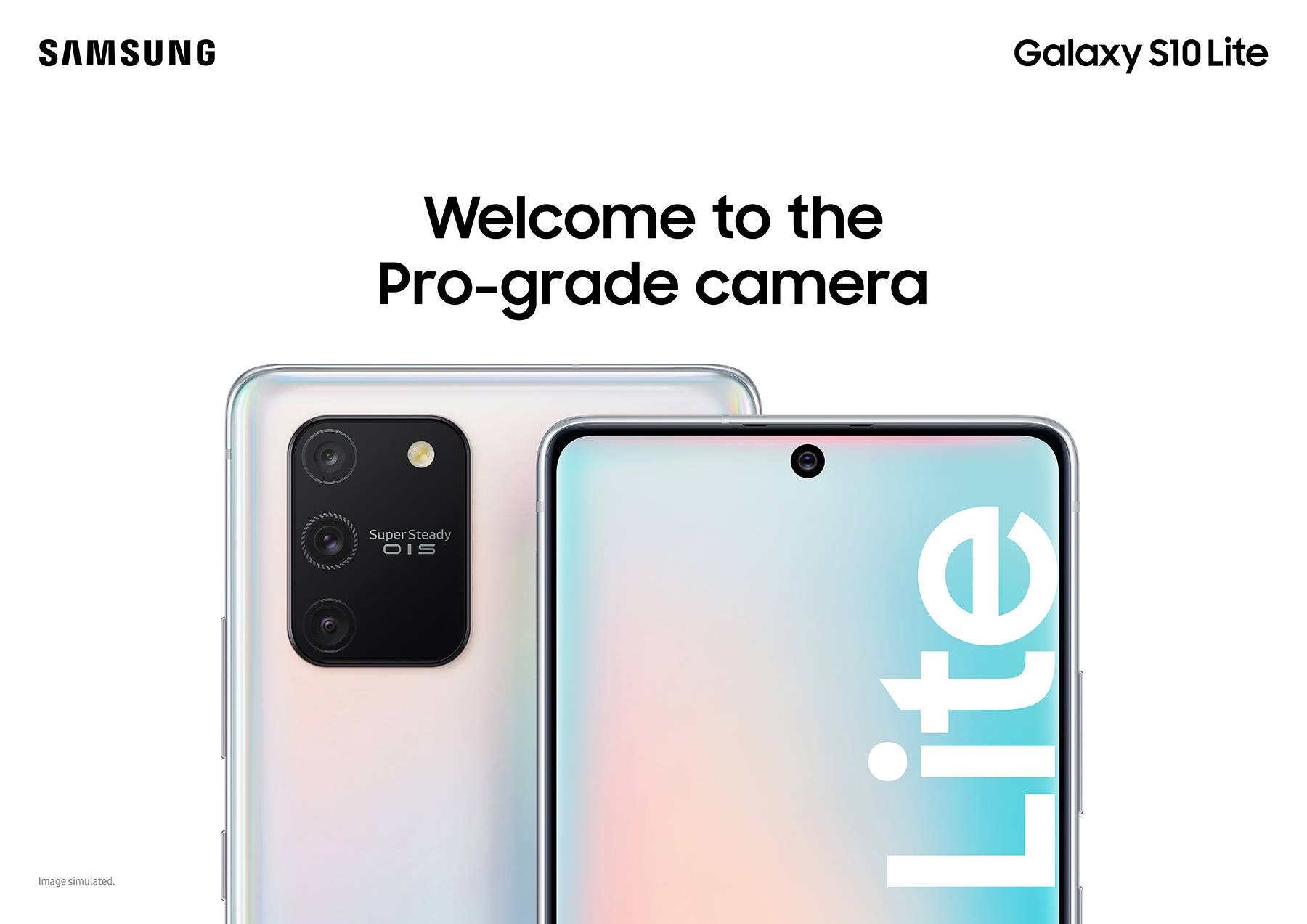 Samsung Galaxy S10 Lite Screen