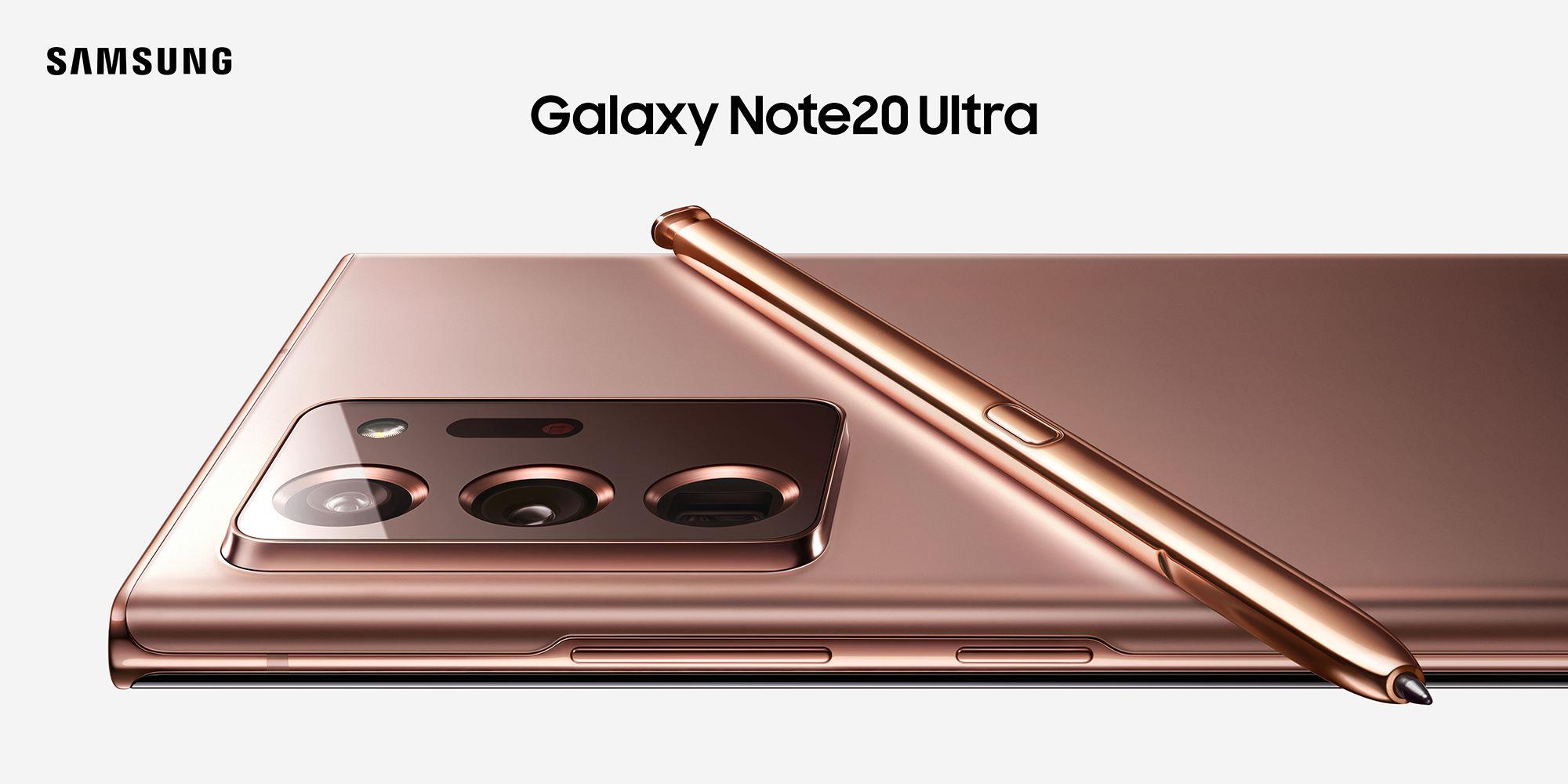 Samsung Galaxy Note20 Ultra Screen