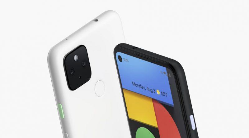 Google Pixel 4a 5G Screen