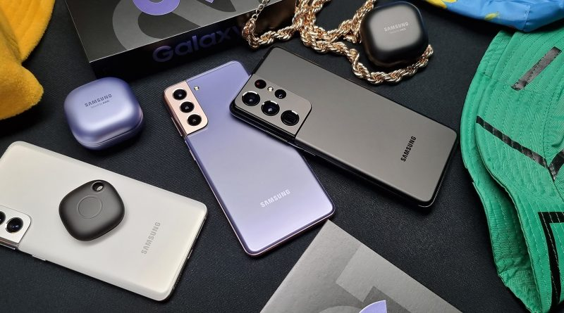 Samsung Galaxy S21 Ultra 5G Screen